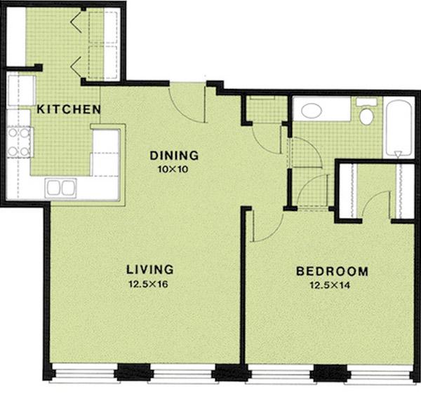 Floor Plans - Erwin Mill
